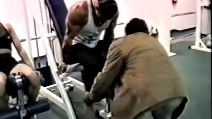 Mike Mentzer HIT training