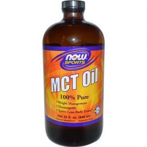 Olio MCT e grassi saturi